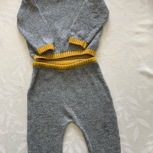 Zara boys  2pc outfit size 6-9 months